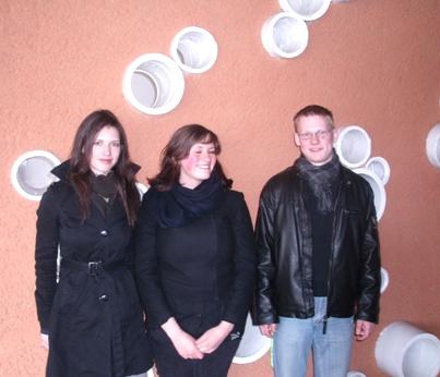 Roberta, Marija ir Tomas