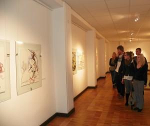 Galerijos trečiajame aukšte