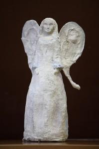 """Ugnė Bulavaitė. """"Atėjęs pas Mariją, angelas Gabrielius tarė: """"Sveika, malonėmis apdovanotoji! Viešpats su tavimi!"""" (pagal Lk 1)"""""""