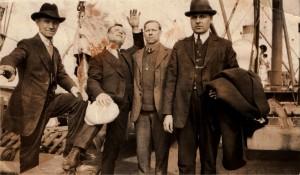 Nuotrauka daryta prieš pat emigraciją į JAV apie 1920m.